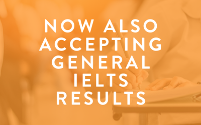 TAV College Now Accepts General IELTS Results