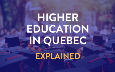 Post High School Education in Quebec: Explained